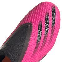 adidas X Ghosted.3 LL Gras Voetbalschoenen (FG) Kids Roze Zwart Oranje