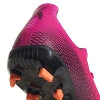 adidas X Ghosted.3 Gras Voetbalschoenen (FG) Kids Roze Zwart Oranje