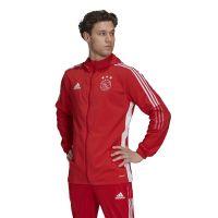adidas Ajax Presentatie Trainingsjack 2021-2022 Rood