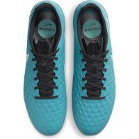Nike Tiempo Legend 8 Academy Gras / Kunstgras Voetbalschoenen (MG) Turquoise Wit Lime