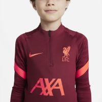 Nike Liverpool Strike Drill Trainingspak 2021-2022 Kids Rood Felrood