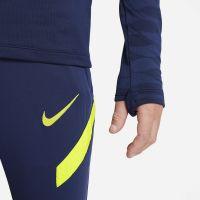 Nike Tottenham Hotspur Strike Drill Trainingstrui 2021-2022 Kids Donkerblauw Blauw Geel