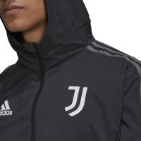 adidas Juventus Presentatie Trainingspak 2021-2022 Donkergrijs Zwart