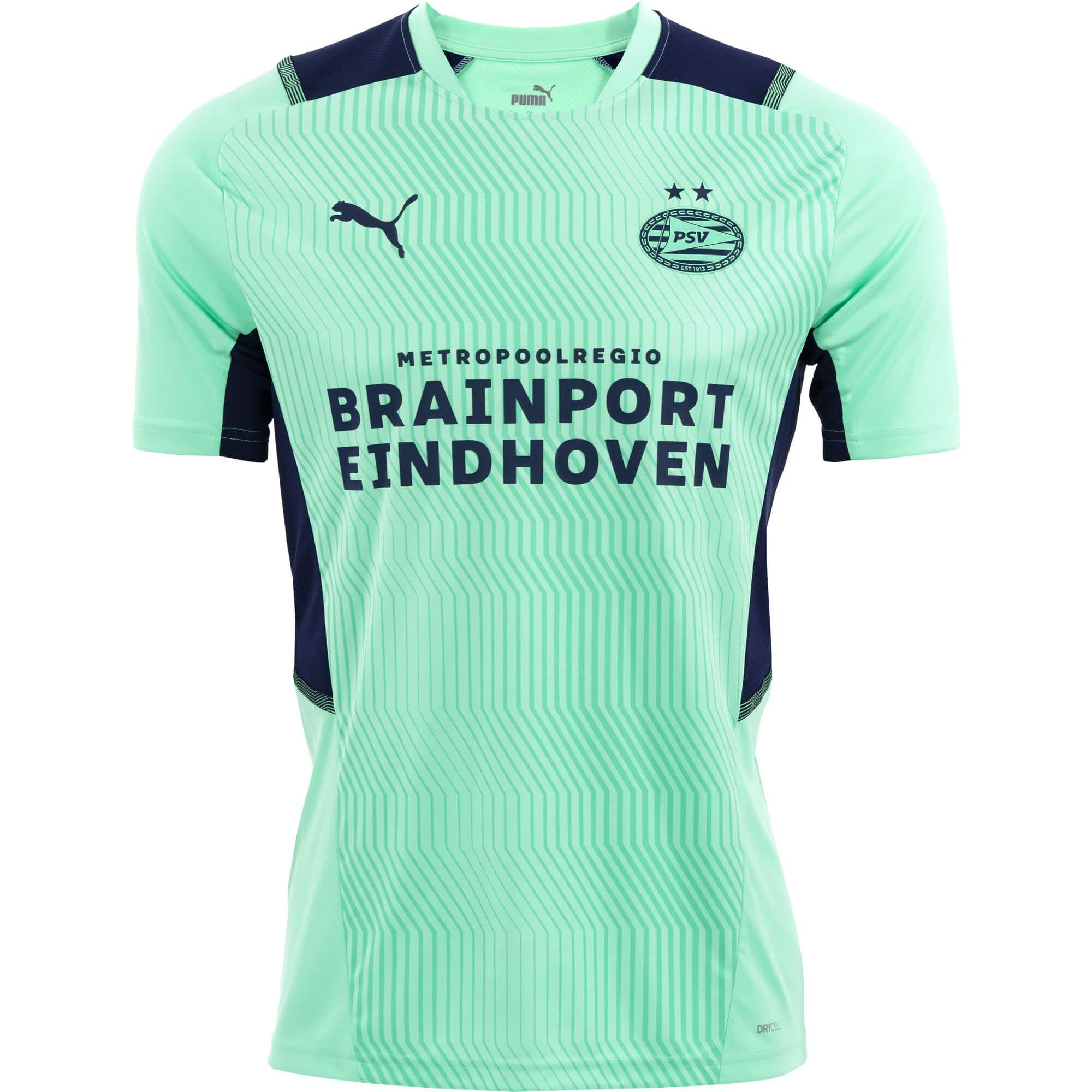 PSV Trainingsshirt Jr Green Glimmer 21/22