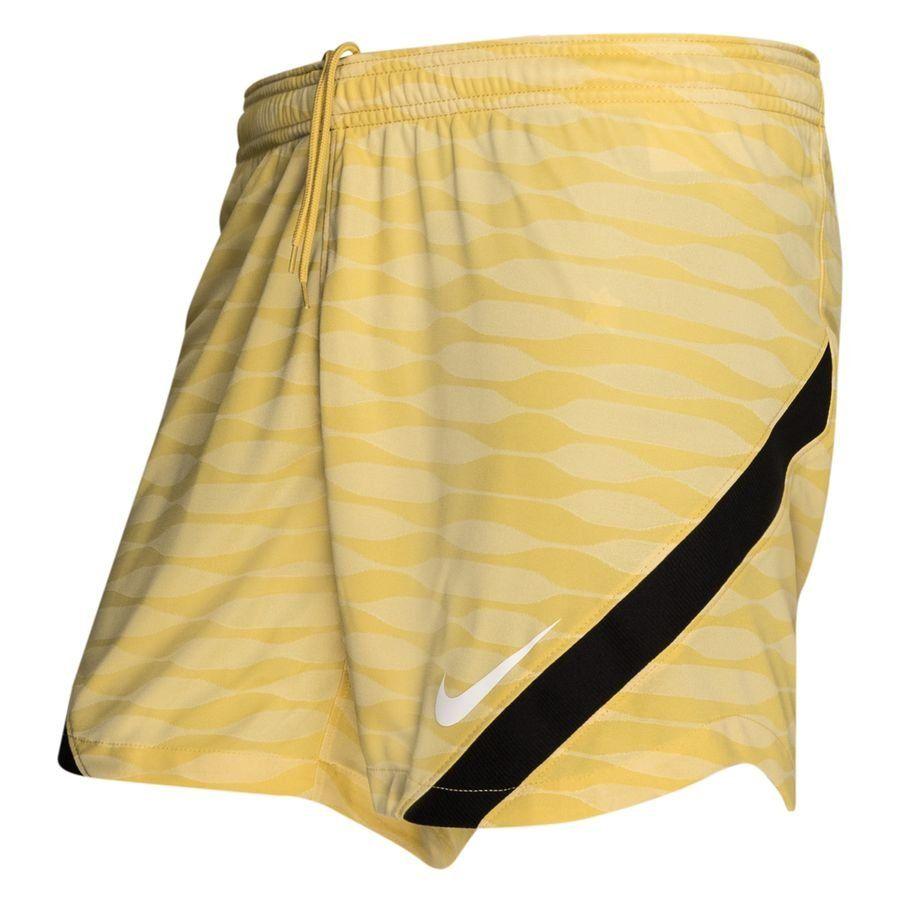 Nike Strike 21 Trainingsbroekje Dames Goud Beige Zwart Wit