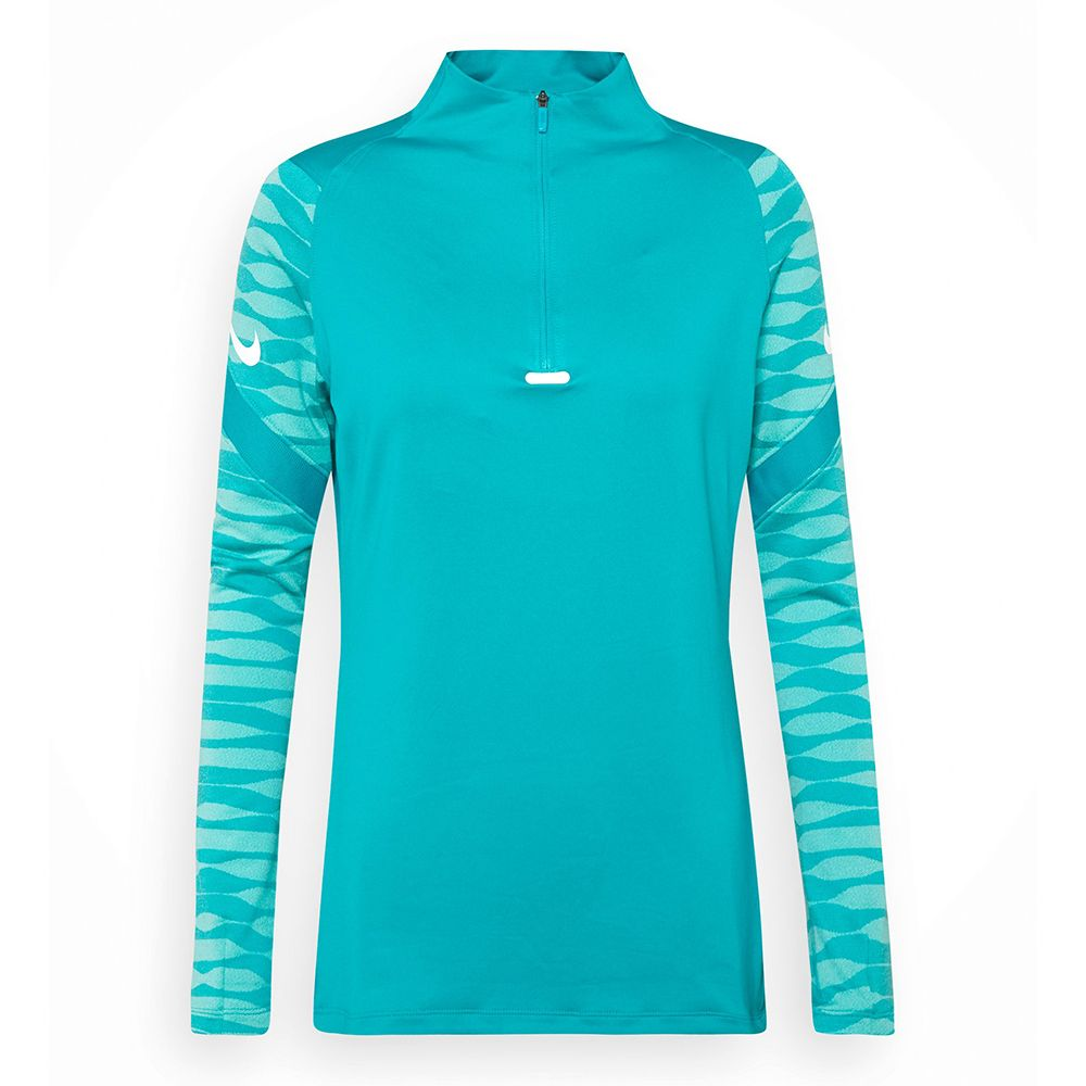 Nike Strike 21 Drill Trainingstrui Dames Turquoise Wit