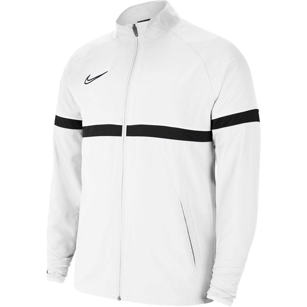 Nike Academy 21 Dri-Fit Trainingsjack Woven Kids Wit Zwart