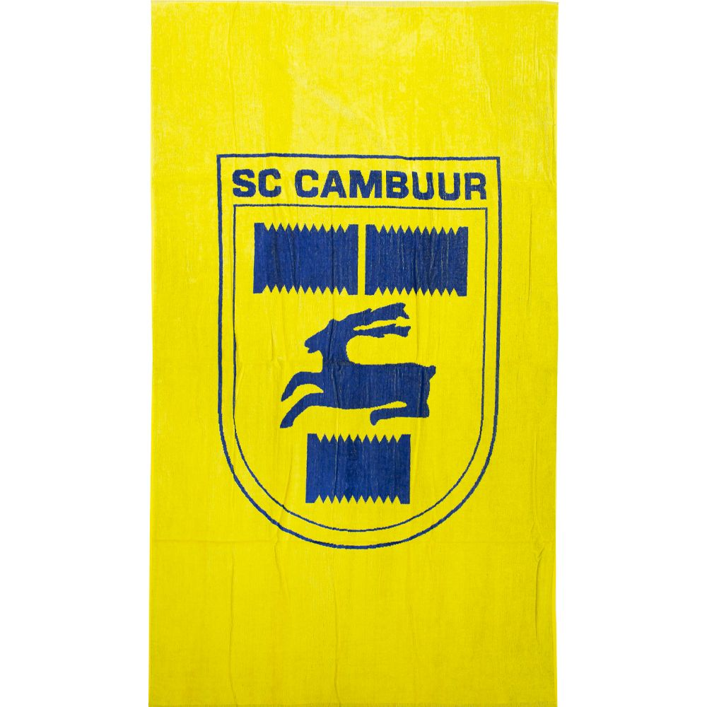 SC Cambuur Strandlaken Zwart Geel