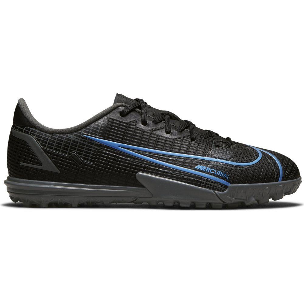 Nike Mercurial Vapor 14 Academy Turf Voetbalschoenen (TF) Kids Zwart Blauw