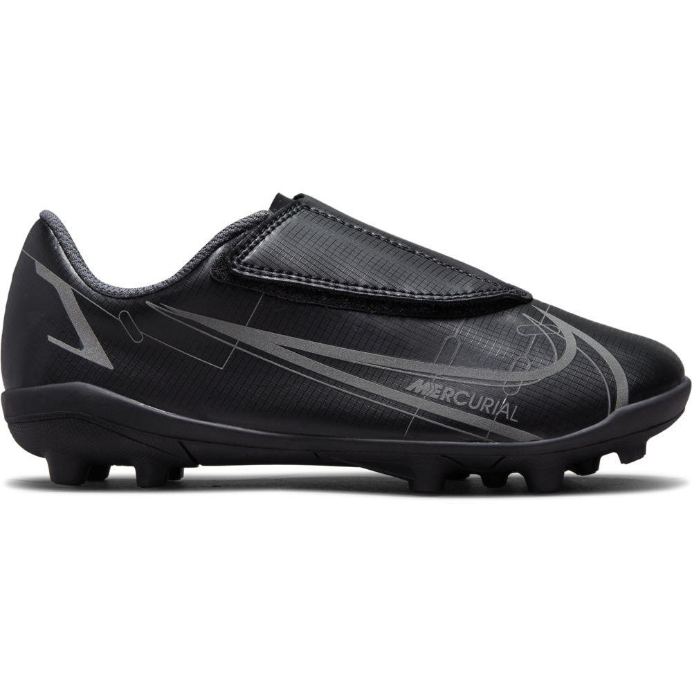 Nike Mercurial Vapor 14 Club Gras / Kunstgras Voetbalschoenen (MG) Peuters Zwart Donkergrijs