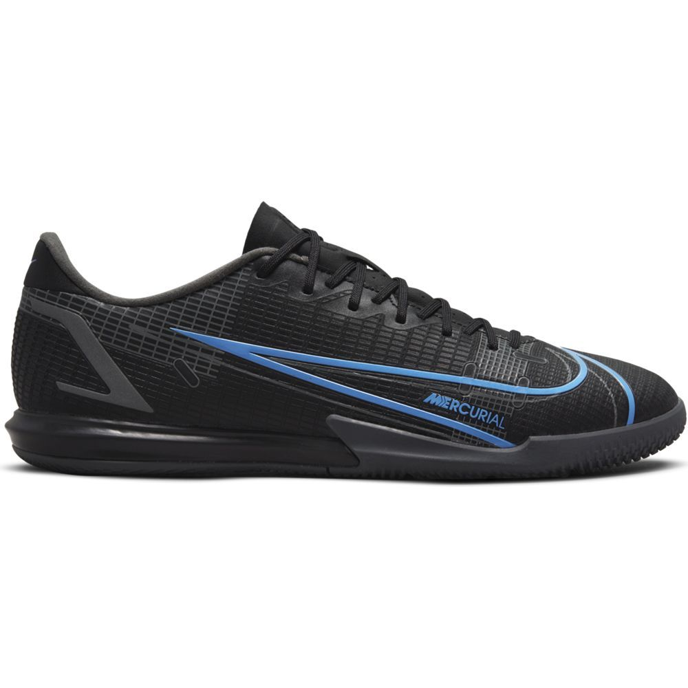 Nike Mercurial Vapor 14 Academy Zaalvoetbalschoenen (IC) Zwart Donkergrijs