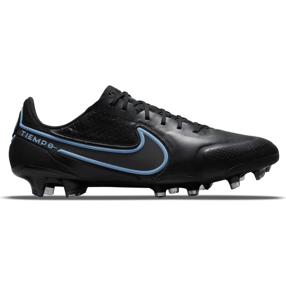 Nike Tiempo Legend 9 Elite Gras Voetbalschoenen (FG) Zwart Blauw