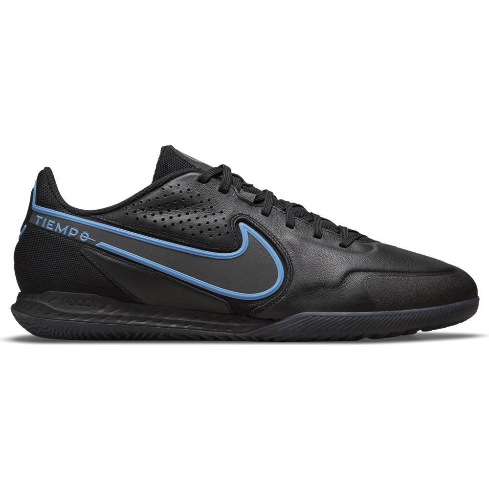 Nike Tiempo Legend 9 Pro React Zaalvoetbalschoenen (IC) Zwart Blauw
