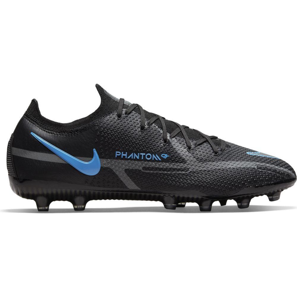 Nike Phantom GT 2 Elite Kunstgras Voetbalschoenen (AG) Zwart Donkergrijs