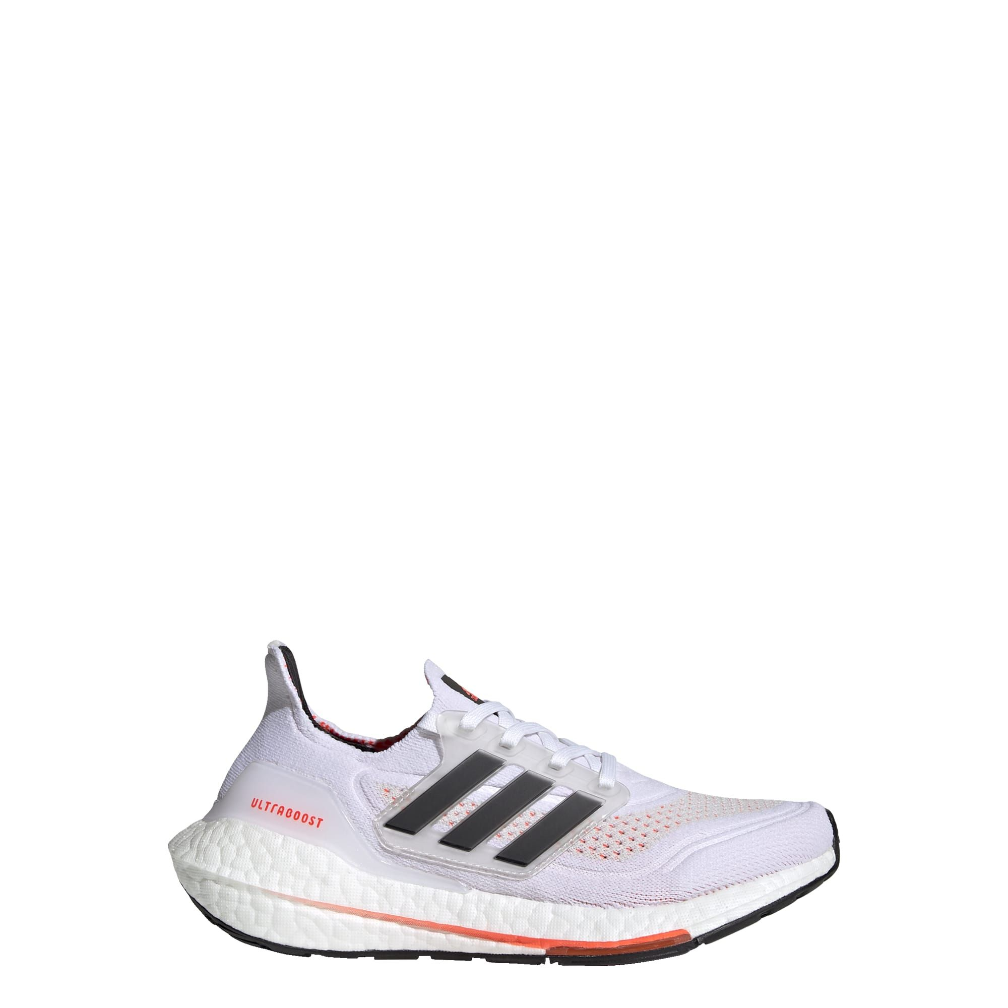 adidas Ultraboost 21 Primeblue Boost Hardloopschoenen Kids Wit Zwart Rood