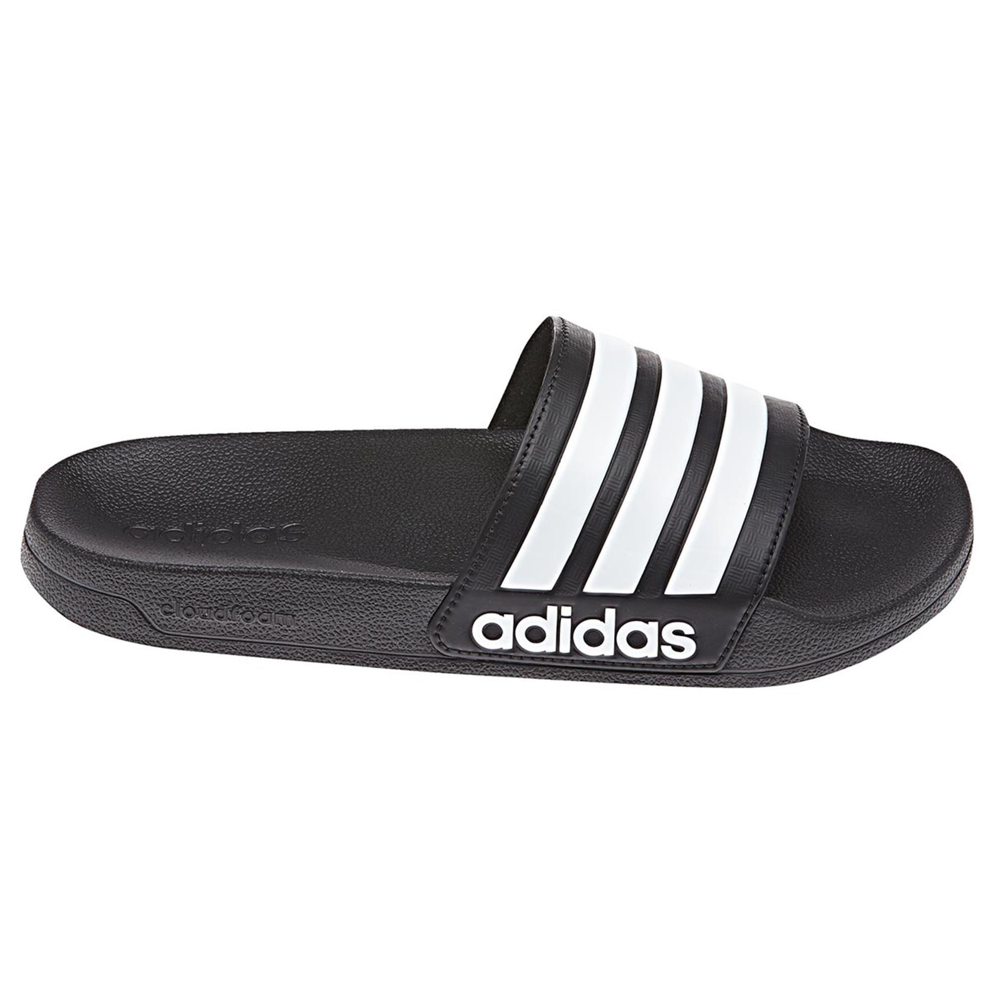 adidas Adilette Cloudfoam Slipper Core Black Future White