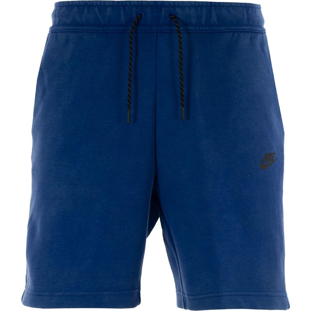Nike SW Tech Fleece Broekje Blauw Zwart