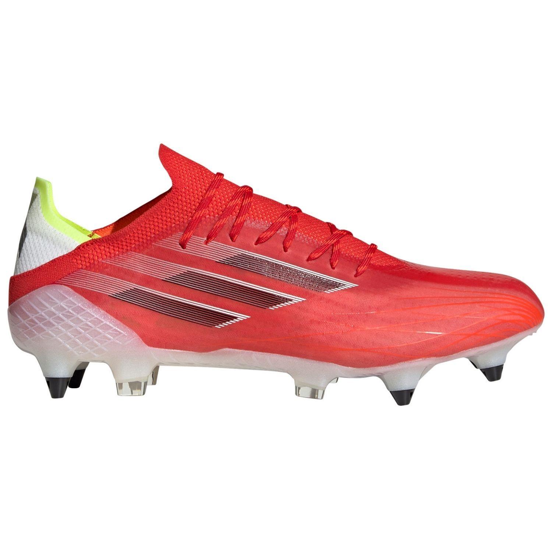 adidas X Speedflow.1 Ijzeren-nop Voetbalschoenen (SG) Rood Zwart Rood