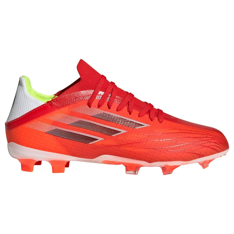 adidas X Speedflow.1 Gras Voetbalschoenen (FG) Kids Rood Zwart Rood