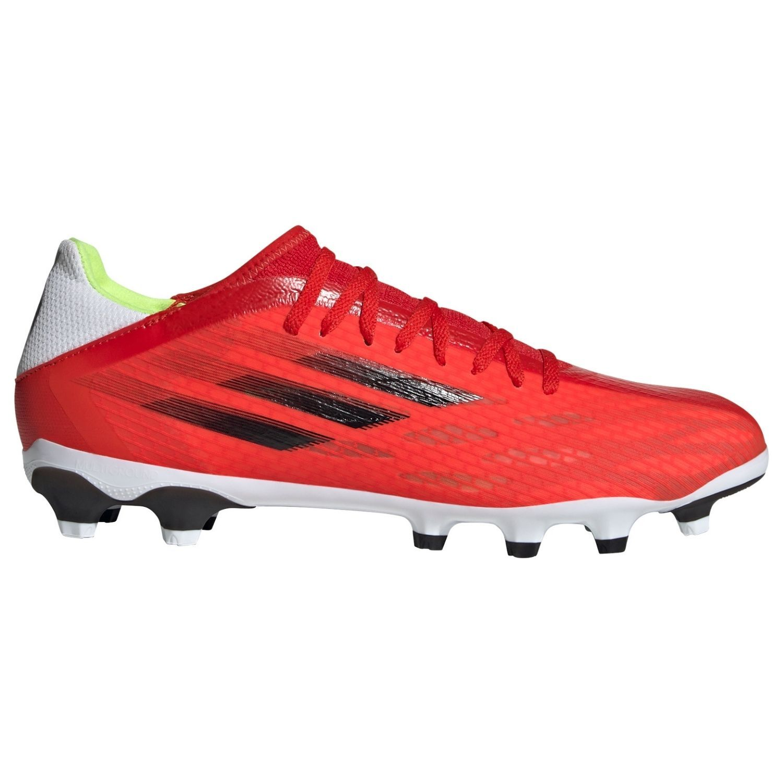 adidas X Speedflow.3 Gras / Kunstgras Voetbalschoenen (MG) Rood Zwart Rood