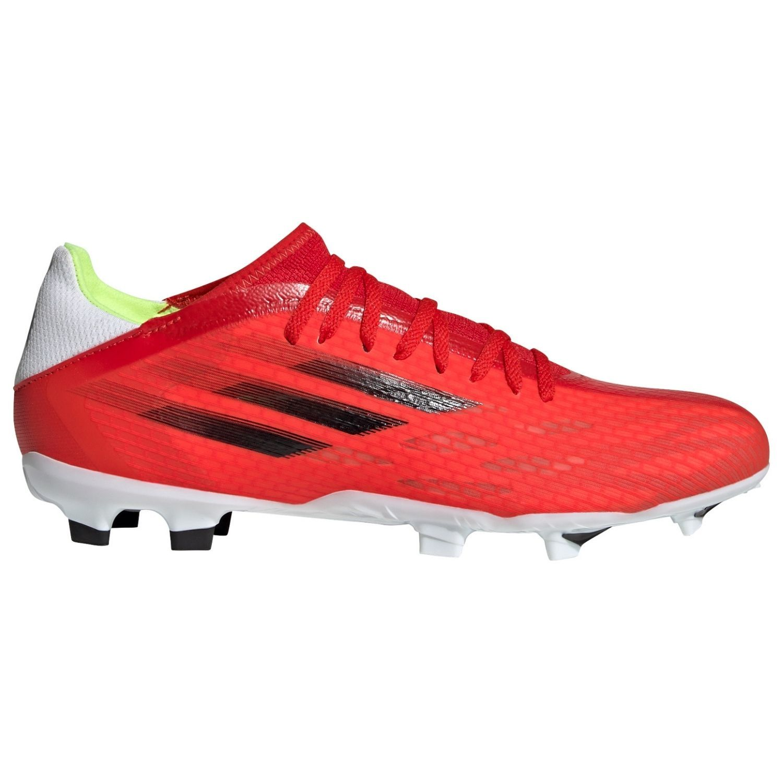 adidas X Speedflow.3 Gras Voetbalschoenen (FG) Rood Zwart Rood