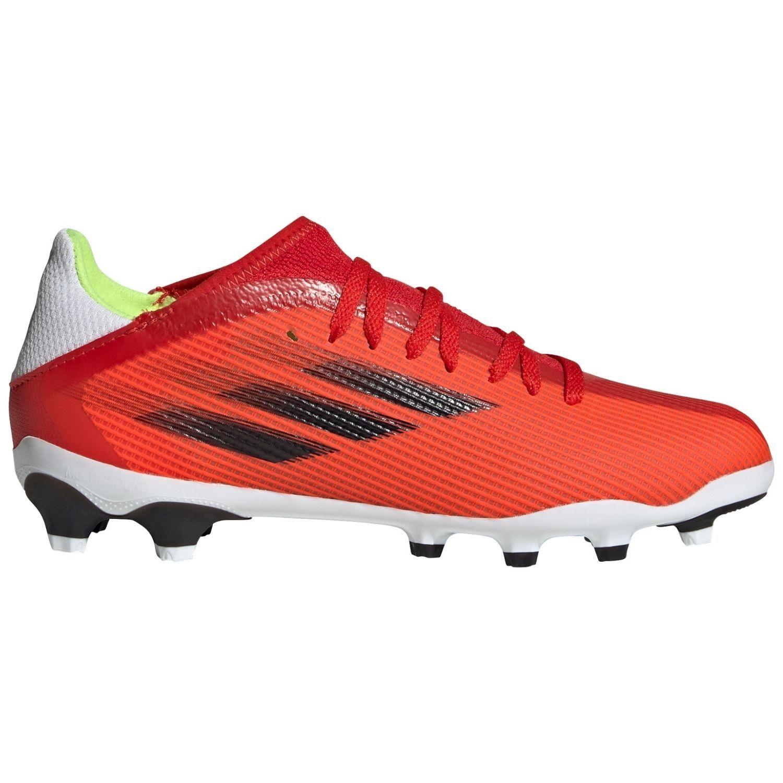 adidas X Speedflow.3 Gras / Kunstgras Voetbalschoenen (MG) Kids Rood Zwart Rood