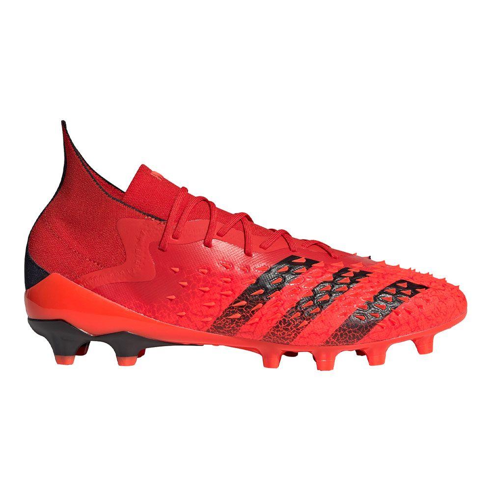 adidas Predator Freak.1 Kunstgras Voetbalschoenen (AG) Rood Zwart Rood