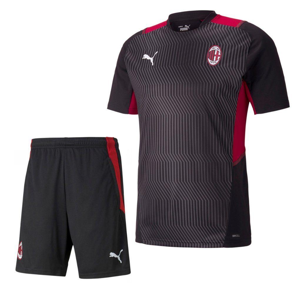 PUMA AC Milan Trainingsset 2021-2022 Zwart