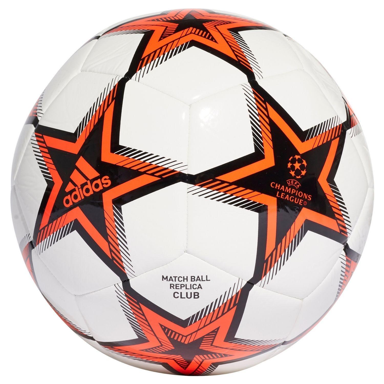 adidas Champions League Club Voetbal Maat 5 PS Wit Zwart Oranje