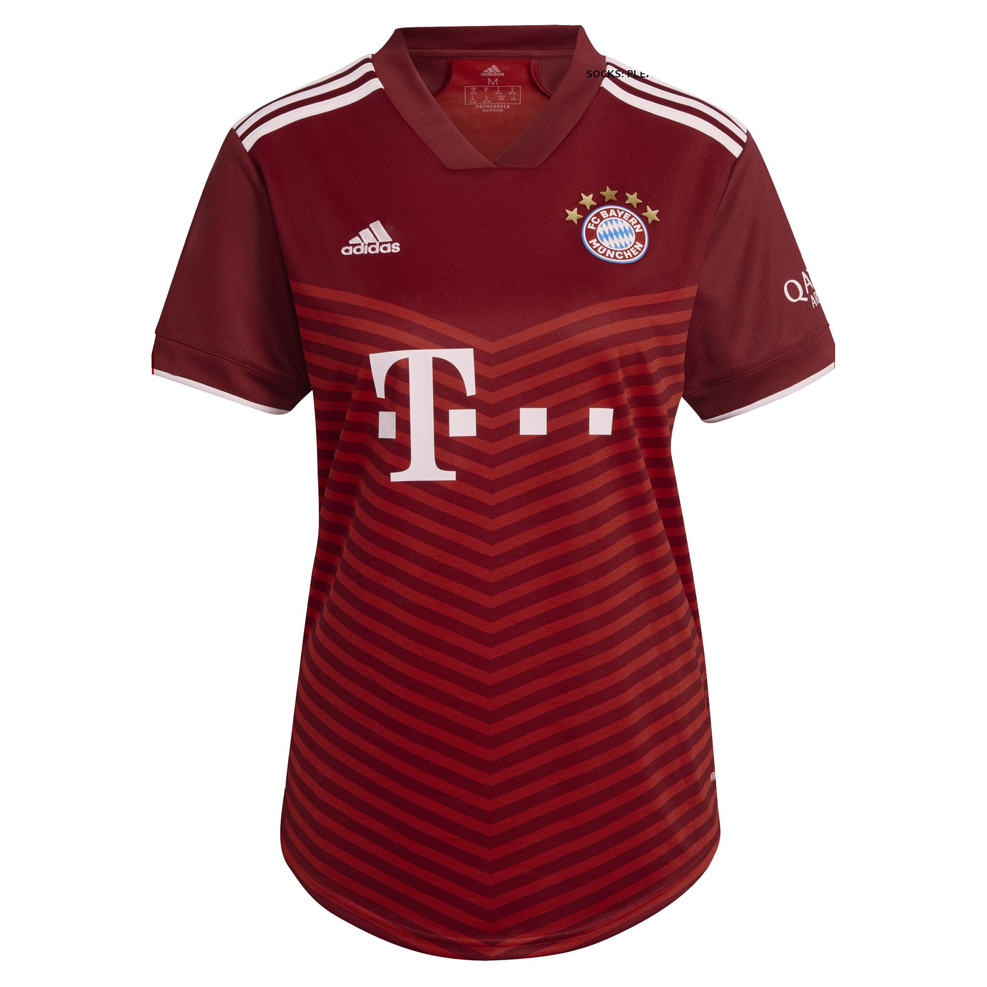 adidas Bayern Munchen Thuisshirt 2021-2022 Dames