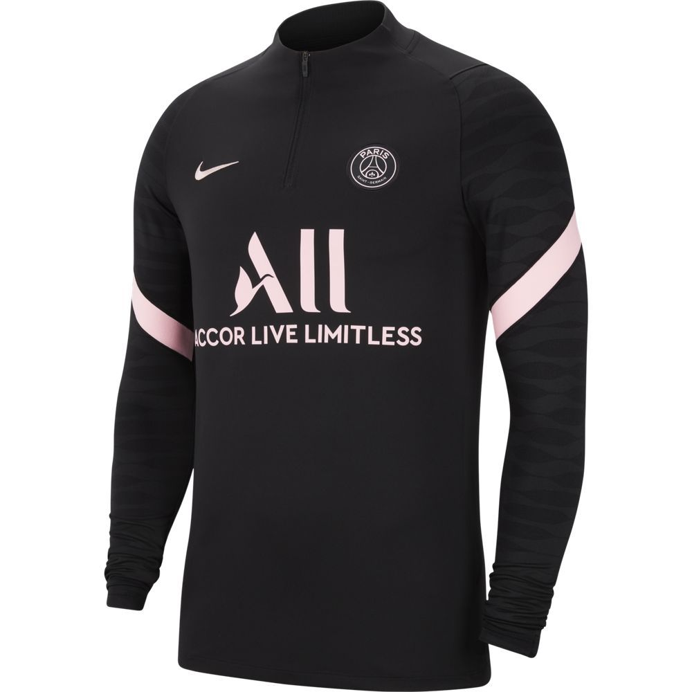 Nike Paris Saint Germain Strike Trainingstrui 2021-2022 Zwart Roze