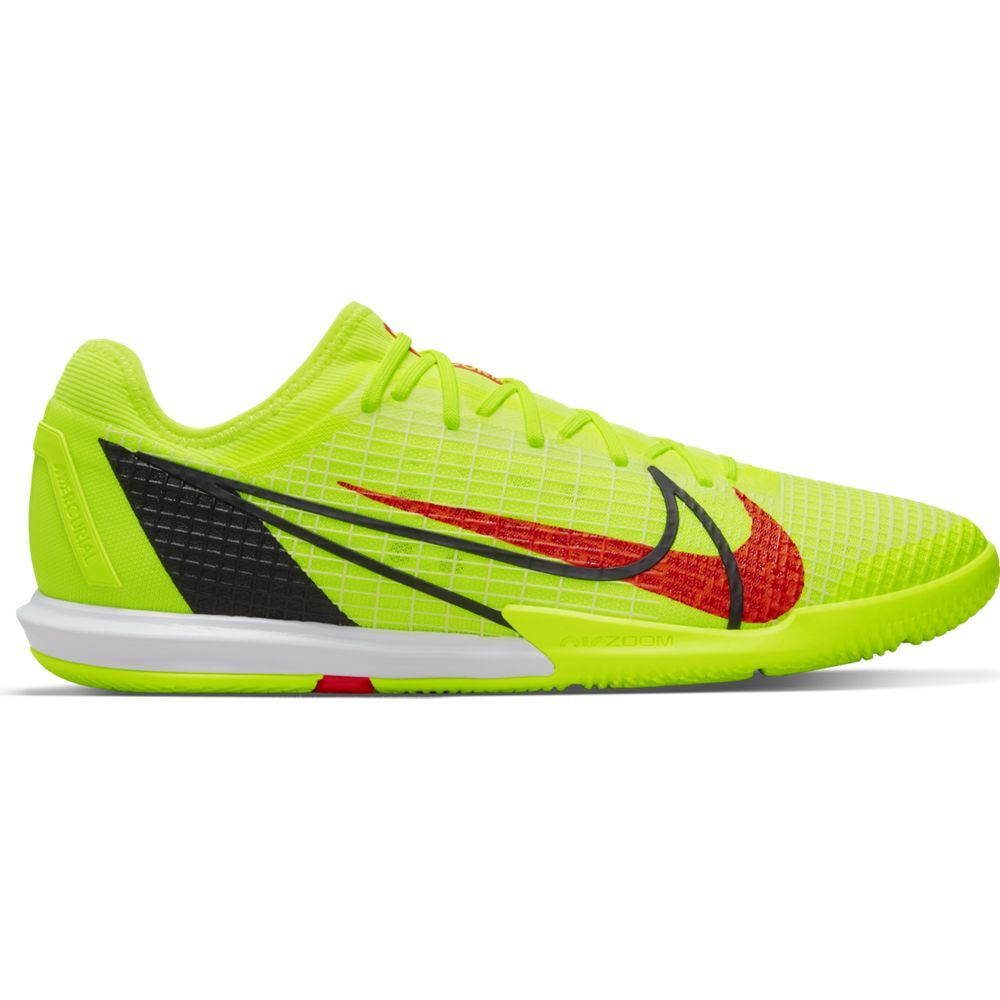 Nike Mercurial Vapor 14 Pro Zaalvoetbalschoenen (IC) Geel Rood Zwart