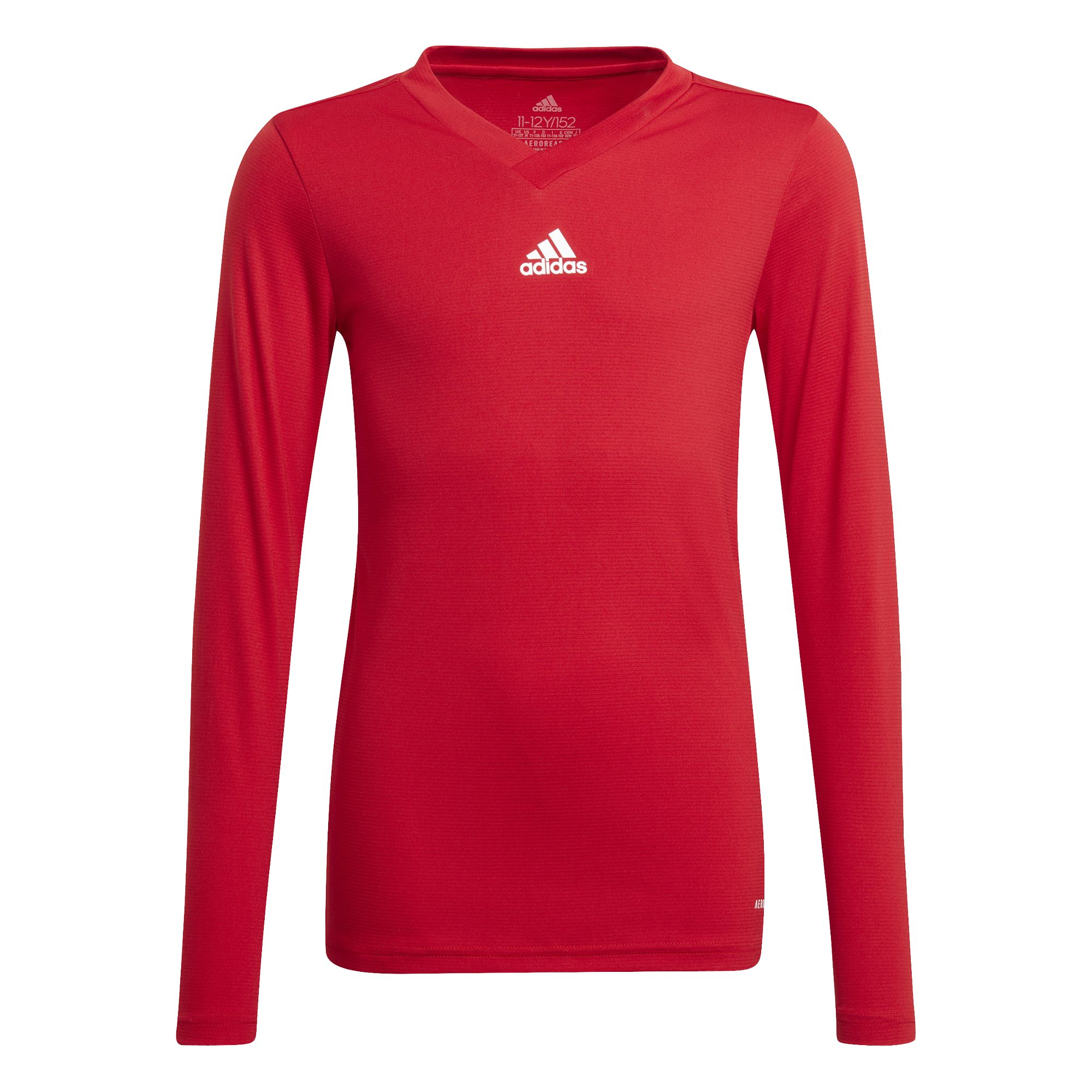adidas Team Ondershirt Lange Mouwen Kids Rood