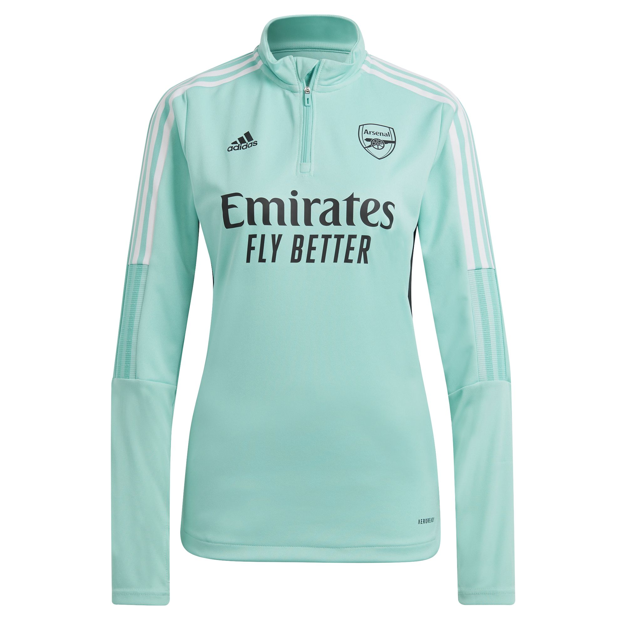 adidas Arsenal Trainingstrui 2021-2022 Dames Mintgroen