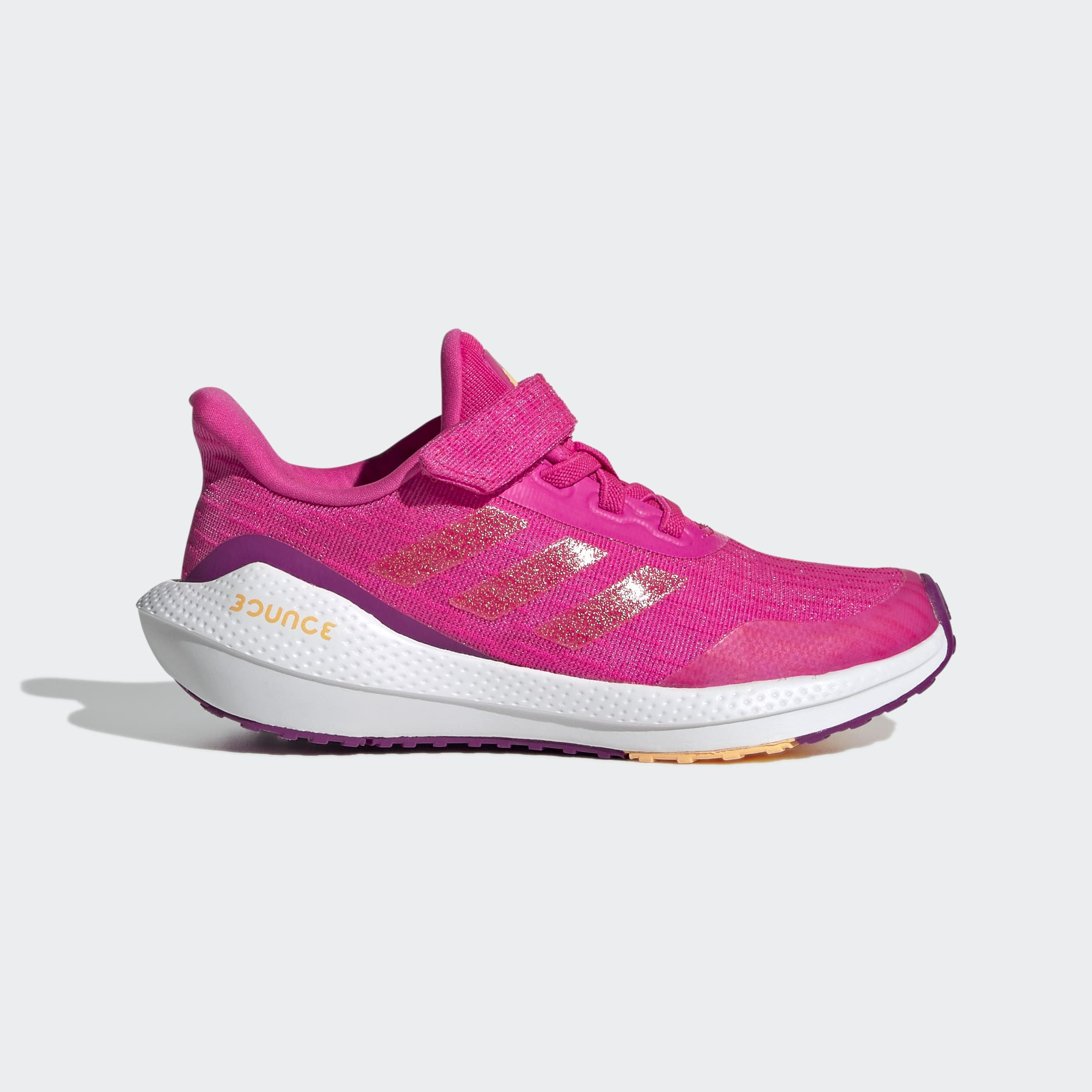 adidas EQ21 Run Sneakers Kids Roze Wit