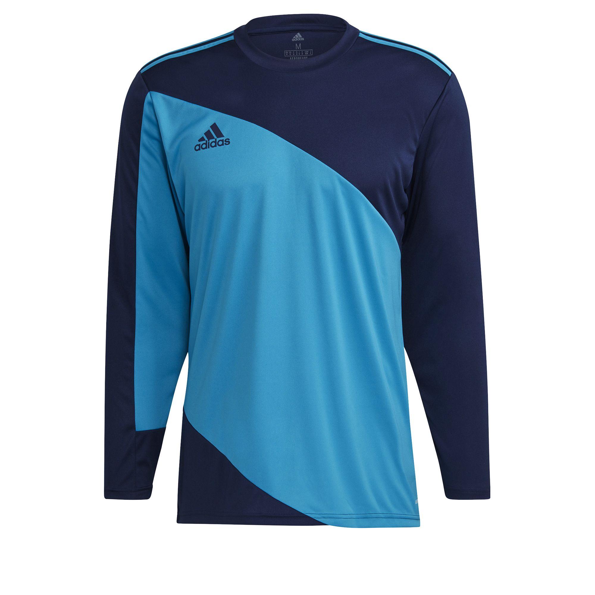 adidas Squadra 21 Keepersshirt Lange Mouwen Donkerblauw Lichtblauw