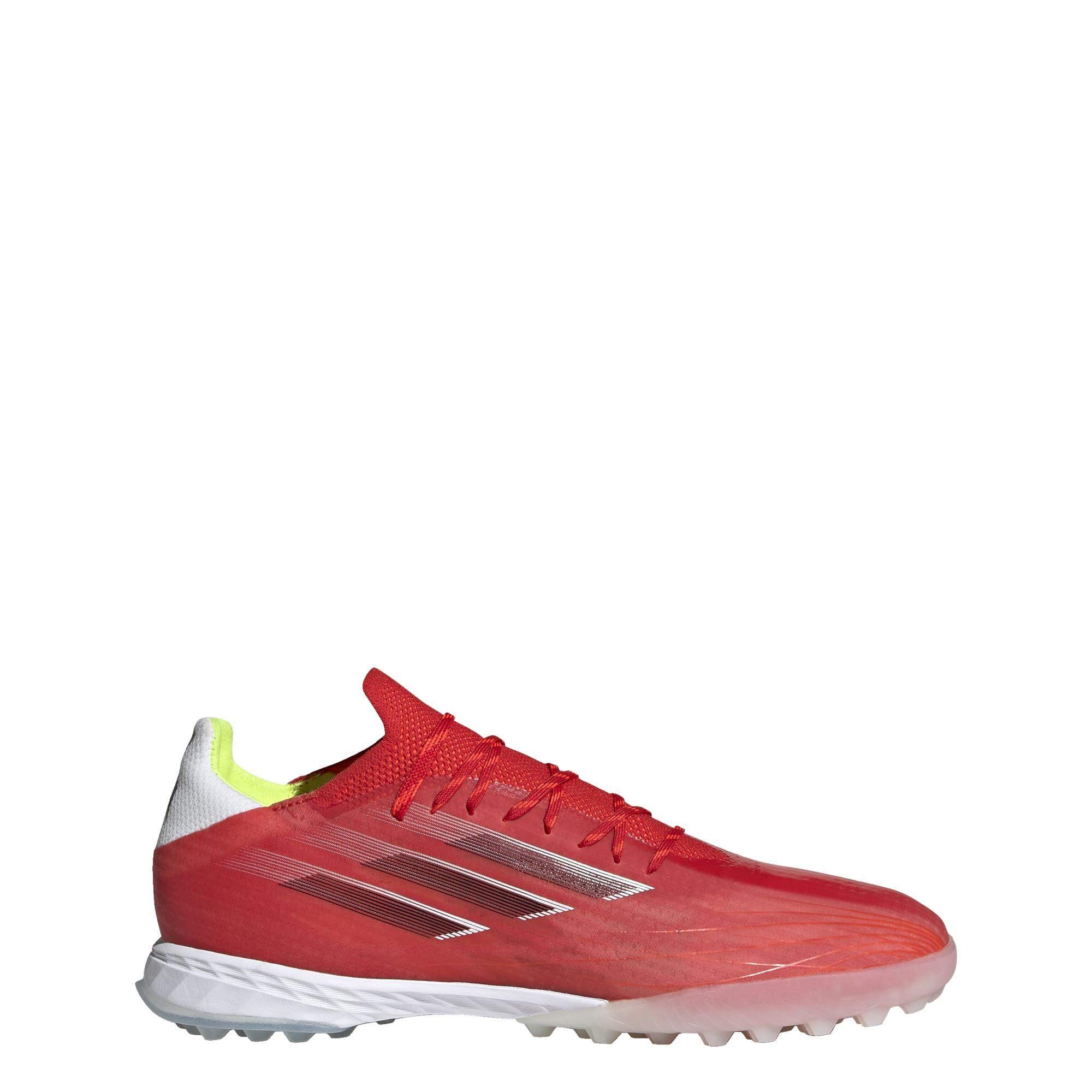 adidas X Speedflow.1 Turf Voetbalschoenen (TF) Rood Wit