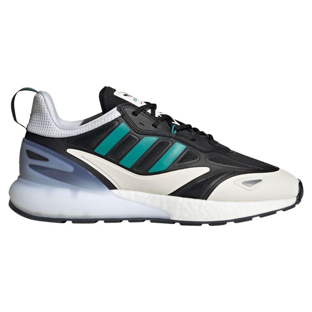 adidas Real Madrid ZX 2K BOOST 2.0 Sneaker Zwart Groen