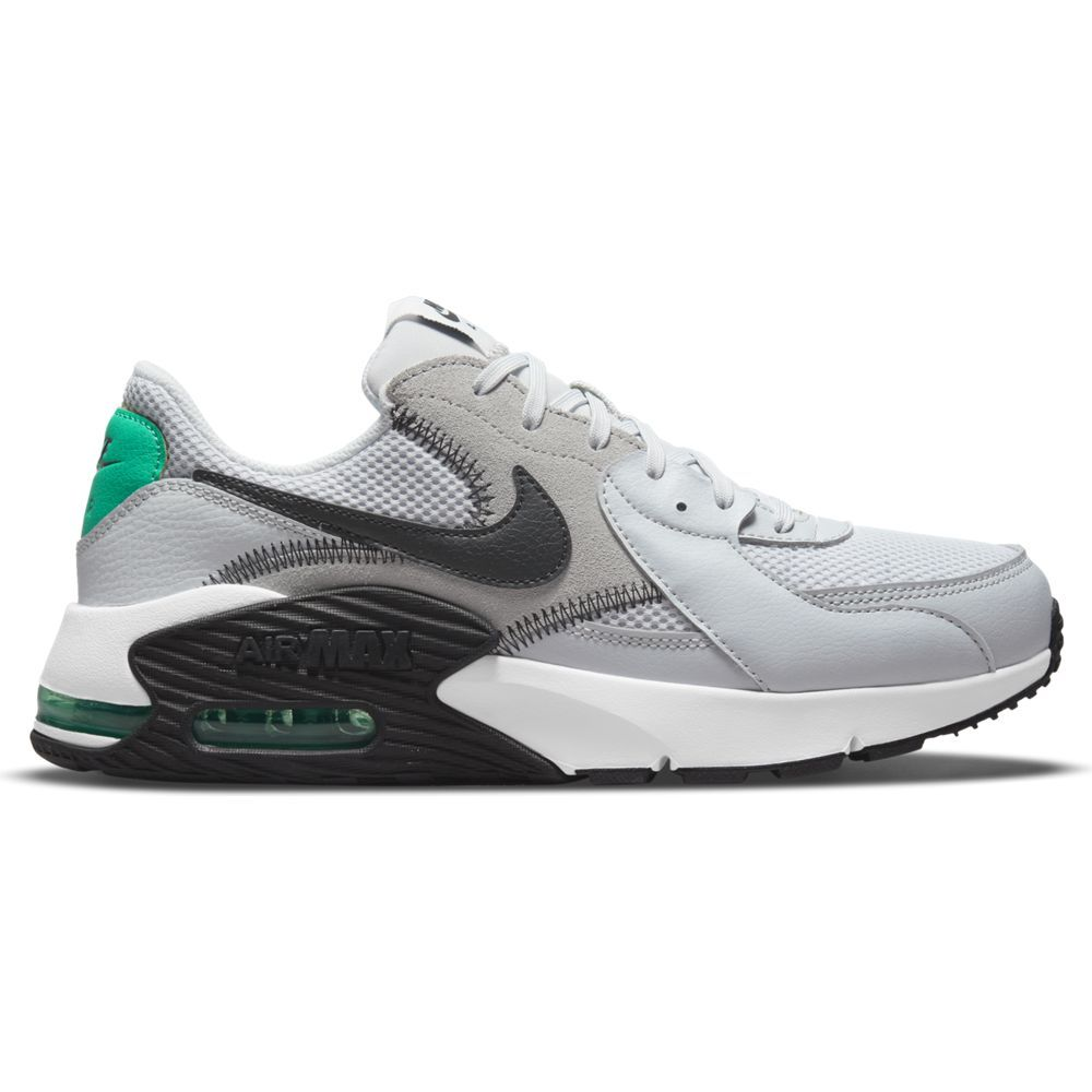 Nike Air Max Excee Sneakers Grijs Zwart Turquoise