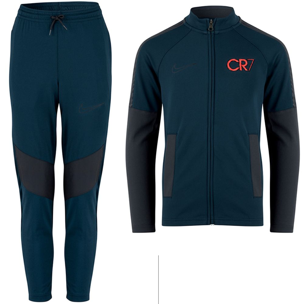 Nike CR7 Trainingspak Kids Donkerblauw Antraciet Roze