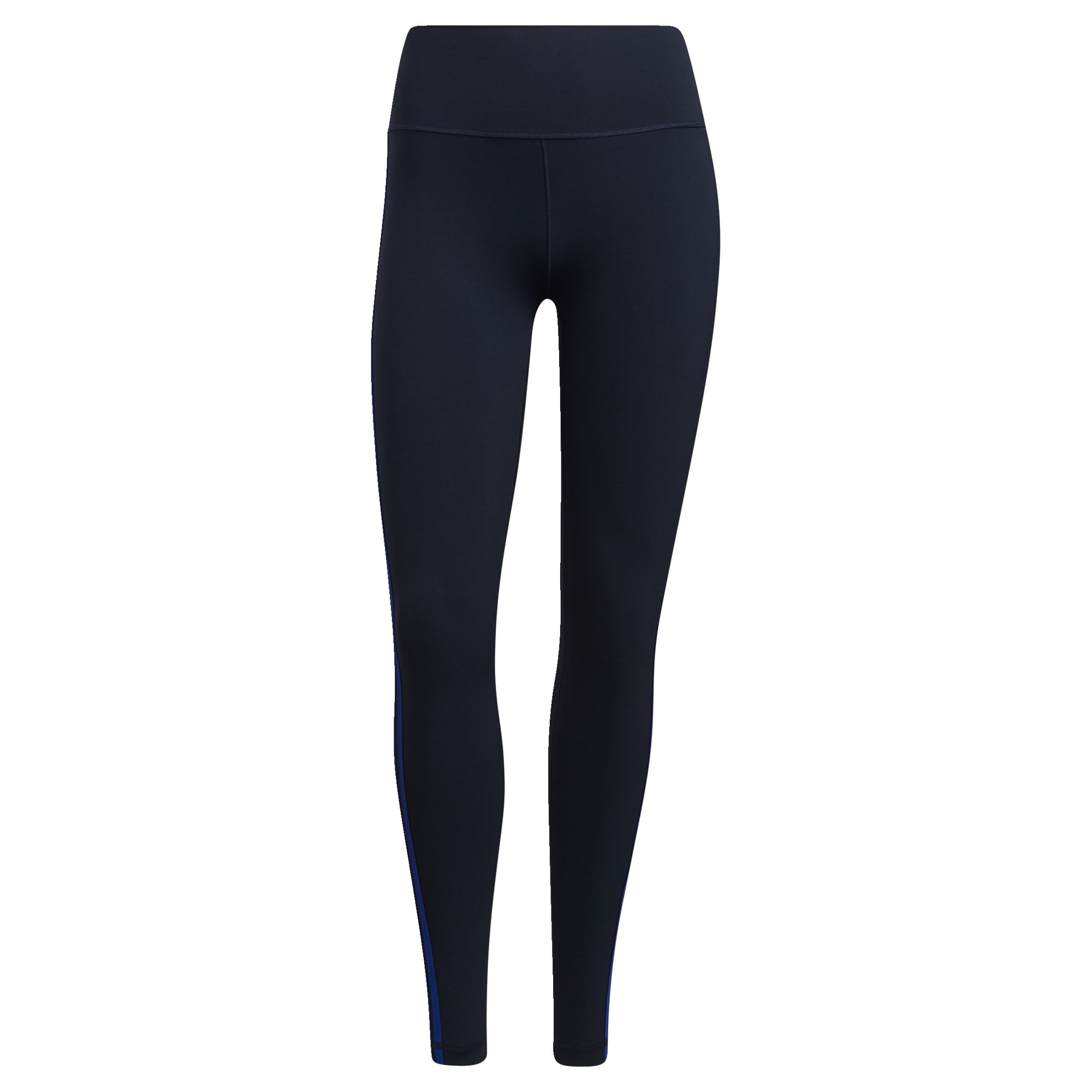 adidas Believe This 3-Stripes Lange Legging  Dames Blauw