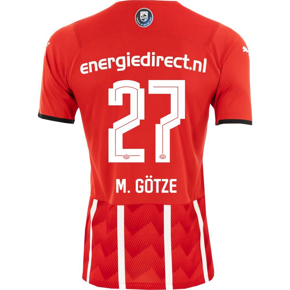 PSV M. Götze 27 Thuisshirt 21/22 Kids
