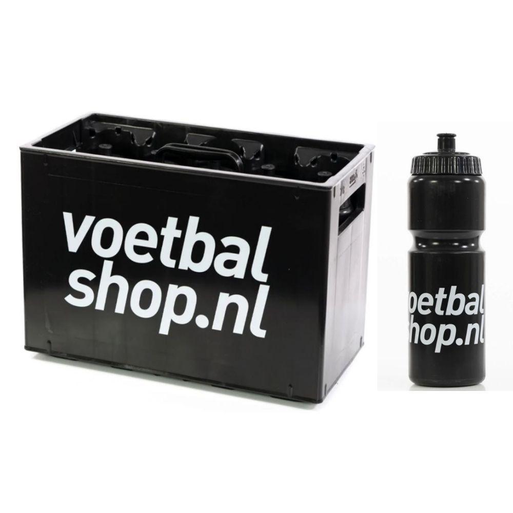 Voetbalshop.nl Bidon Krat + Bidons 10 stuks