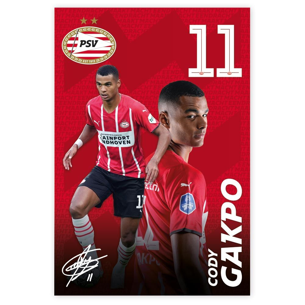 PSV Poster Gakpo 21-22