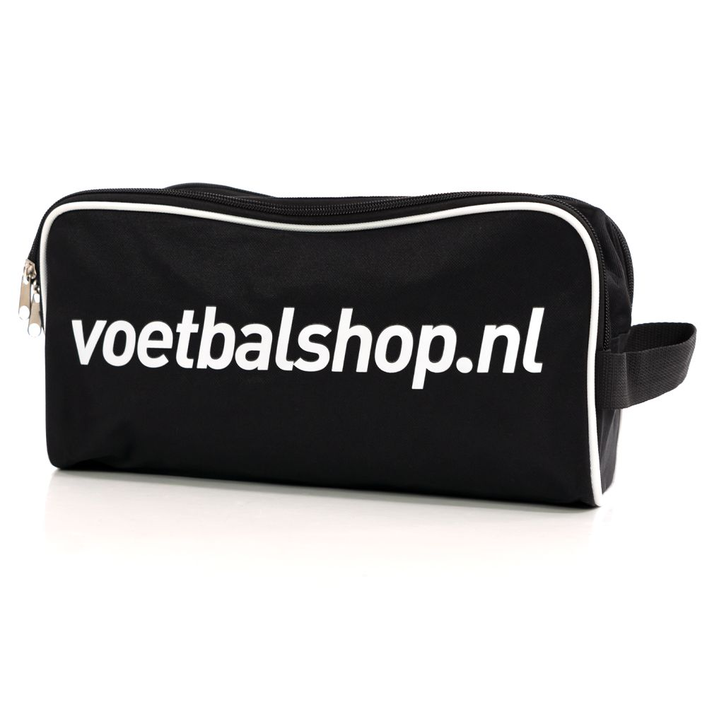 Voetbalshop Schoentasje Zwart Wit