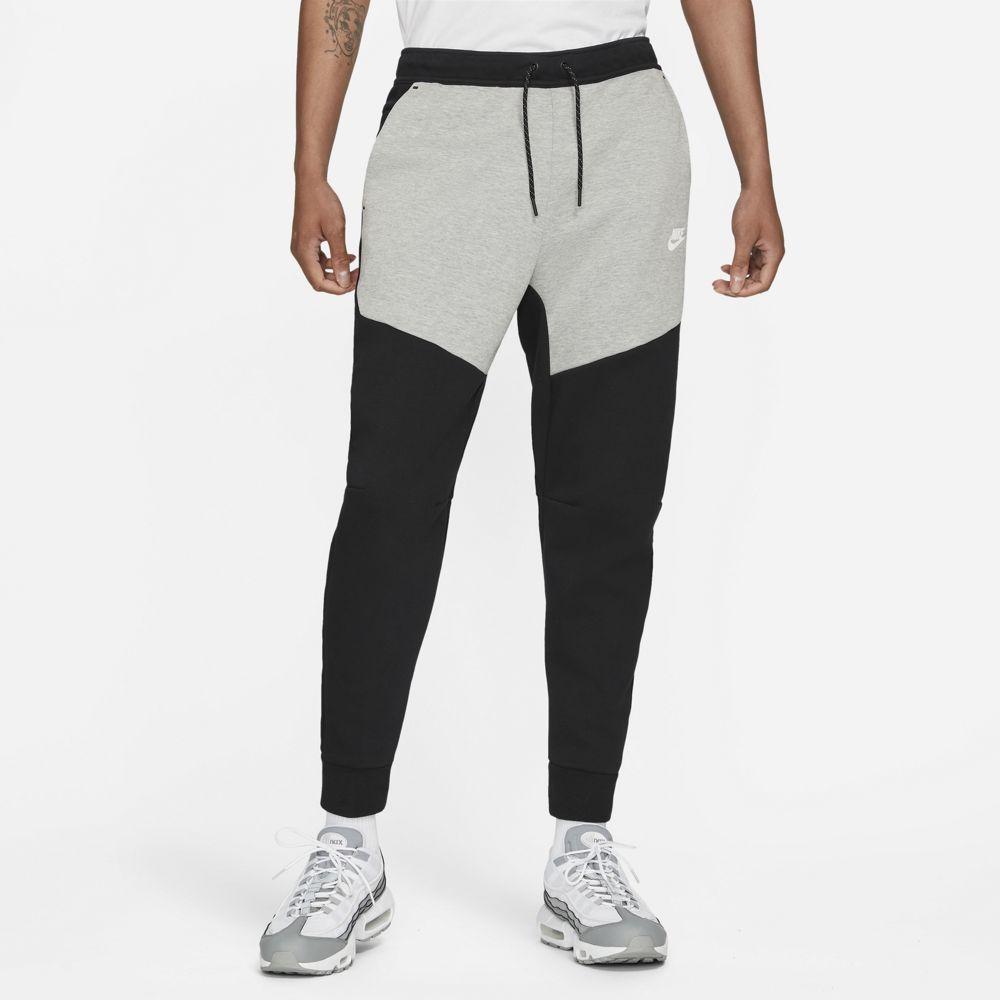 Nike Tech Fleece Broek Zwart Grijs Wit