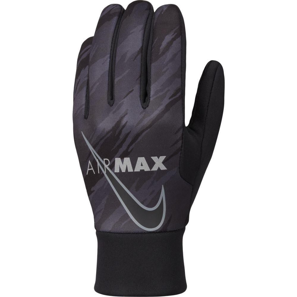 Nike Academy Hyperwarm Handschoenen Air Max Zwart Grijs Zilver
