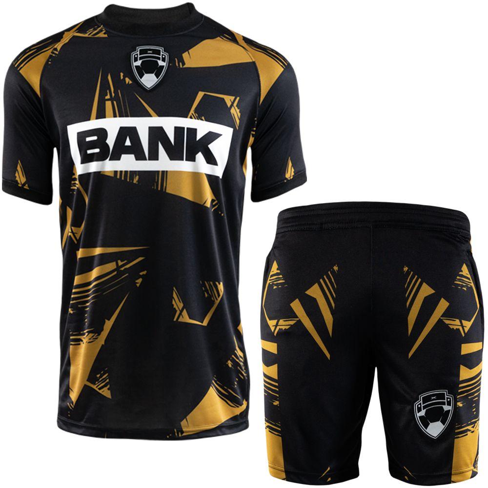 Bankzitters Tenue Zwart Goud
