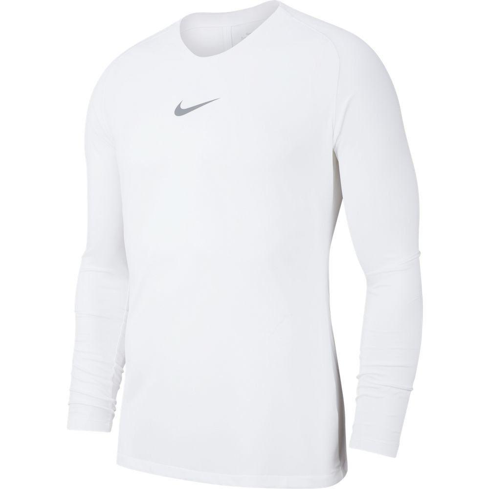 Nike Dri-FIT Park Ondershirt Lange Mouwen Wit