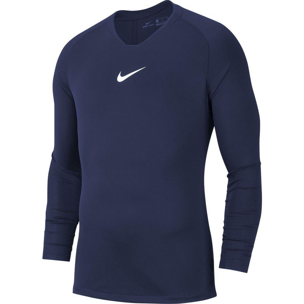 Nike Dri-FIT Park Ondershirt Lange Mouwen Donkerblauw